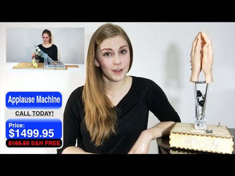 Clapping your hands can kill you | Applause Machine TV Shop Commercial