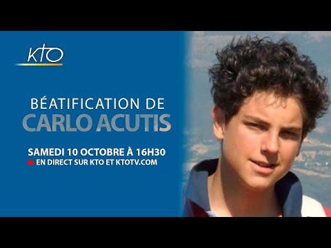 BÉATIFICATION DE CARLO ACUTIS