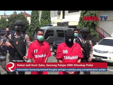 Nekat Jadi Kurir Sabu, Seorang Pelajar SMK Ditankap Polisi