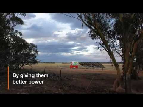Stand-alone Power System changing farm life