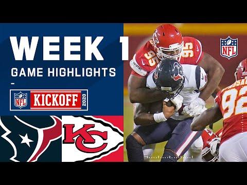 Texans vs. Chiefs Week 1 Highlights | NFL 2020