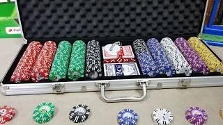 Покерный набор на 500 фишек алиэкспресс