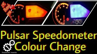 Pulsar Rouser Speedometer Modification | Pulsar Rouser 150 180|Disassemble Assemble