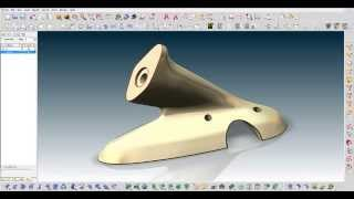 ThinkDesign Precise deformation of a mechanical part
