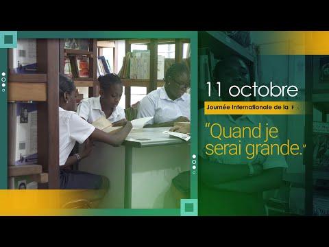 Message de Dr Eugène KONGNYUY, Représentant Résident à l'occasion de la Journée Internationale de la Jeune fille