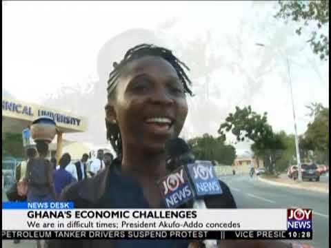 Ghana's Economic Challenges - News Desk on JoyNews (25-9-18)