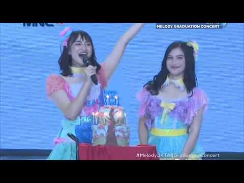 [HD] JKT48 - Gingham Check + Namida Surprise @ Melody Graduation Concert (TV Ver.) 180513 Mp3