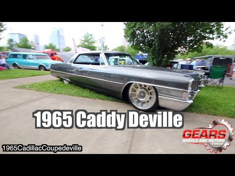 1965 Cadillac Coupe deville with 22 inch Raceline wheels / Gears Wheels and Motors