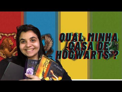 Qual minha casa de Hogwarts? | Lendo com Bia
