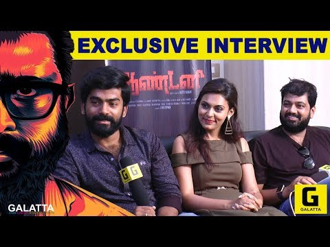 Interview promoting Antony-Tamil film