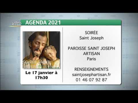 Agenda du 11 janvier 2021