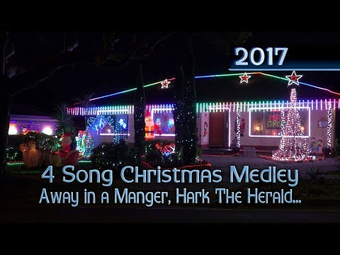 ryanschristmaslights - 4 Song Christmas Medley