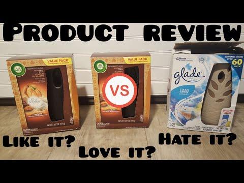 Air Wick Automatic Spray Kit Review vs. Glade Automatic Spray Kit