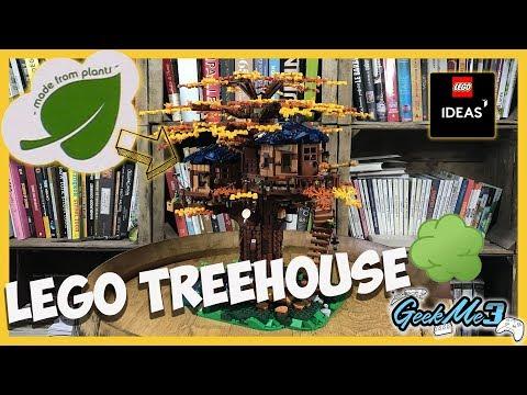 Vidéo LEGO Ideas 21318 : La cabane dans l'arbre