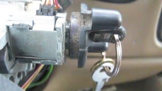Key won't turn ignition - ignition lock cylinder Chevy Silverado 1999-2006