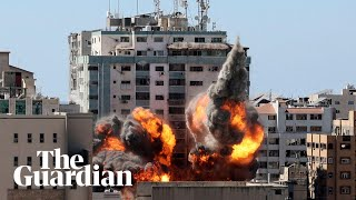 Israel strike in Gaza destroys Al Jazeera and media offices