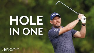 Lee Westwood's hole in one at the WGC Dell Technologies Match Play