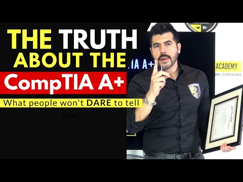 Why NOT to take the CompTIA A+ 👉 The truth people won't DARE to tell you  Advice for 2021