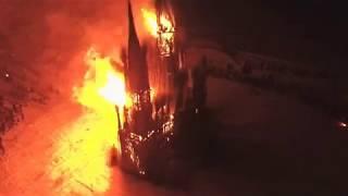 Сжигание храма под Калугой