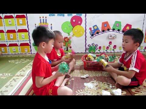 Xây dựng trường Mầm non lấy trẻ làm trung tâm - Trường Mầm non Cẩm Sơn