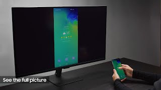 Smart Monitor: How to do it all on a bigger screen   Samsung thumbnail