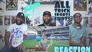 Dude Perfect : All Trick Sport Shots Reaction
