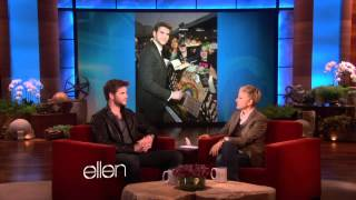 Liam Hemsworth From The Hunger Games!.( LIAM TALKS ABOUT MILEY ON ELLEN, AND PUNKD)