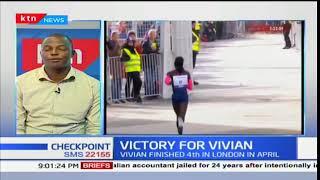 Victory for Vivian:Vivian win in Frankfurt