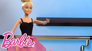 Chelsea Doll Learns About Being a Ballet Instructor | Barbie Careers | Barbie