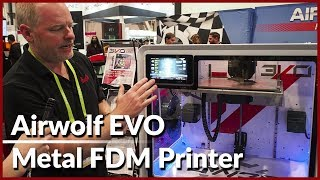 Airwolf EVO - Desktop Metal 3D Printer | CES 2018