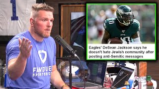 Pat McAfee Reacts To DeSean Jackson's Anti-Semitic Posts