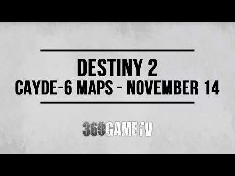 Destiny 2 Titan Treasure Map Locations (Cayde-6 Treasure Maps 14/11 – 21/11 – Week #11)