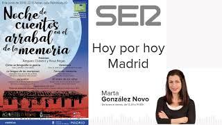 #SalvaPeironcely10. Noche de cuentos en el arrabal de la memoria en Hoy por hoy Madrid