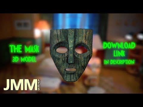 The MASK 3D Model (Download in Description)