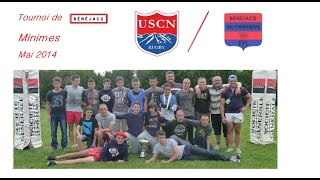preview picture of video 'Rugby Minimes USCN / Benejacq [Mai 2014]'