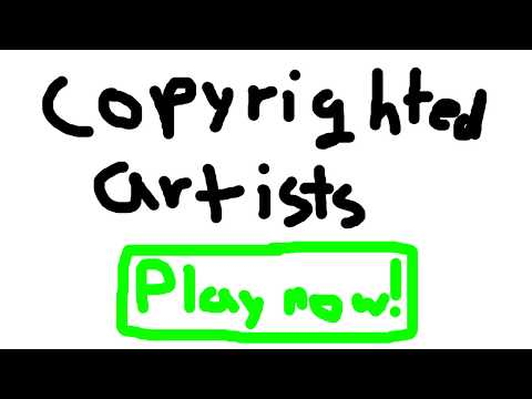Copyrighted Artists Roblox
