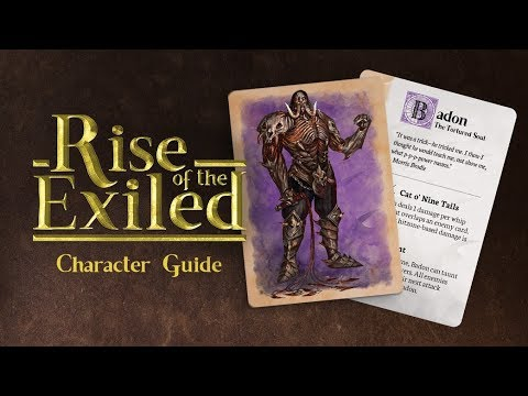 Rise of the Exiled - Character Guide