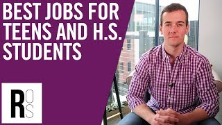 TOP 5 JOBS FOR TEENAGERS AND HIGH SCHOOL STUDENTS!