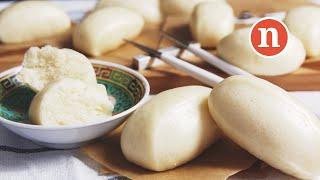 Steamed Chinese Buns | Mantou | Mantao | Mantau | Steamed Bao |  [Nyonya Cooking]