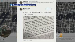 United Airlines Gives Passenger $10,000 Voucher To Give Up Seat