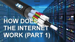 How does the internet work? (PART 1) Data center - IP Address - Optical fiber cables