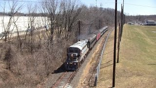 preview picture of video 'West Chester Railroad: Nathan Horns on ALCO Power'
