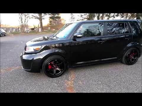 2010 Scion Xb MST wheels MT01 18x8.5 35 offset Te37 reps