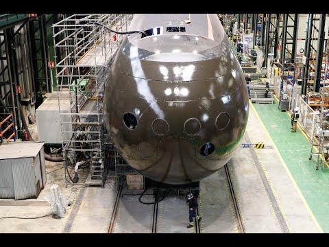 Todo listo en el Astillero Navantia de Cartagena para que el submarino S-81 toque el mar