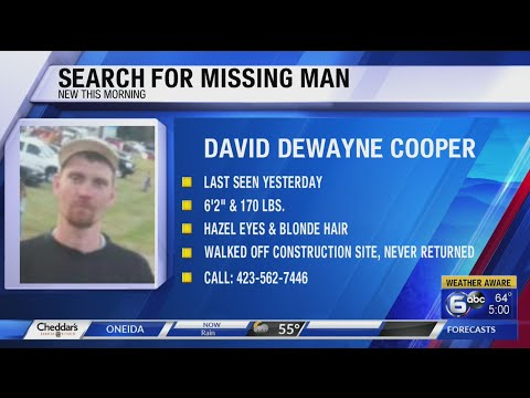 Campbell County authorities searching for missing man who walked off job site