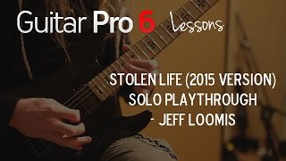 "Jeff Loomis - Arch Enemy ""Stolen Life"" Solo Playthrough"