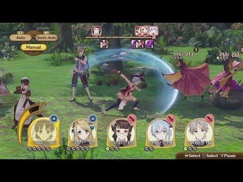 Battle Gameplay de Nelke & the Legendary Alchemists: Ateliers of the New World