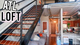 LUXURY ATLANTA LOFT TOUR | HIGH RISE & IN THE CITY | Apartment Hunting In Atl
