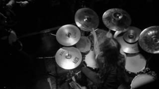 Absu - Drum view - live 8/14/2016