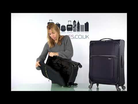 Go Places review of the Samsonite Uplite suitcase range
